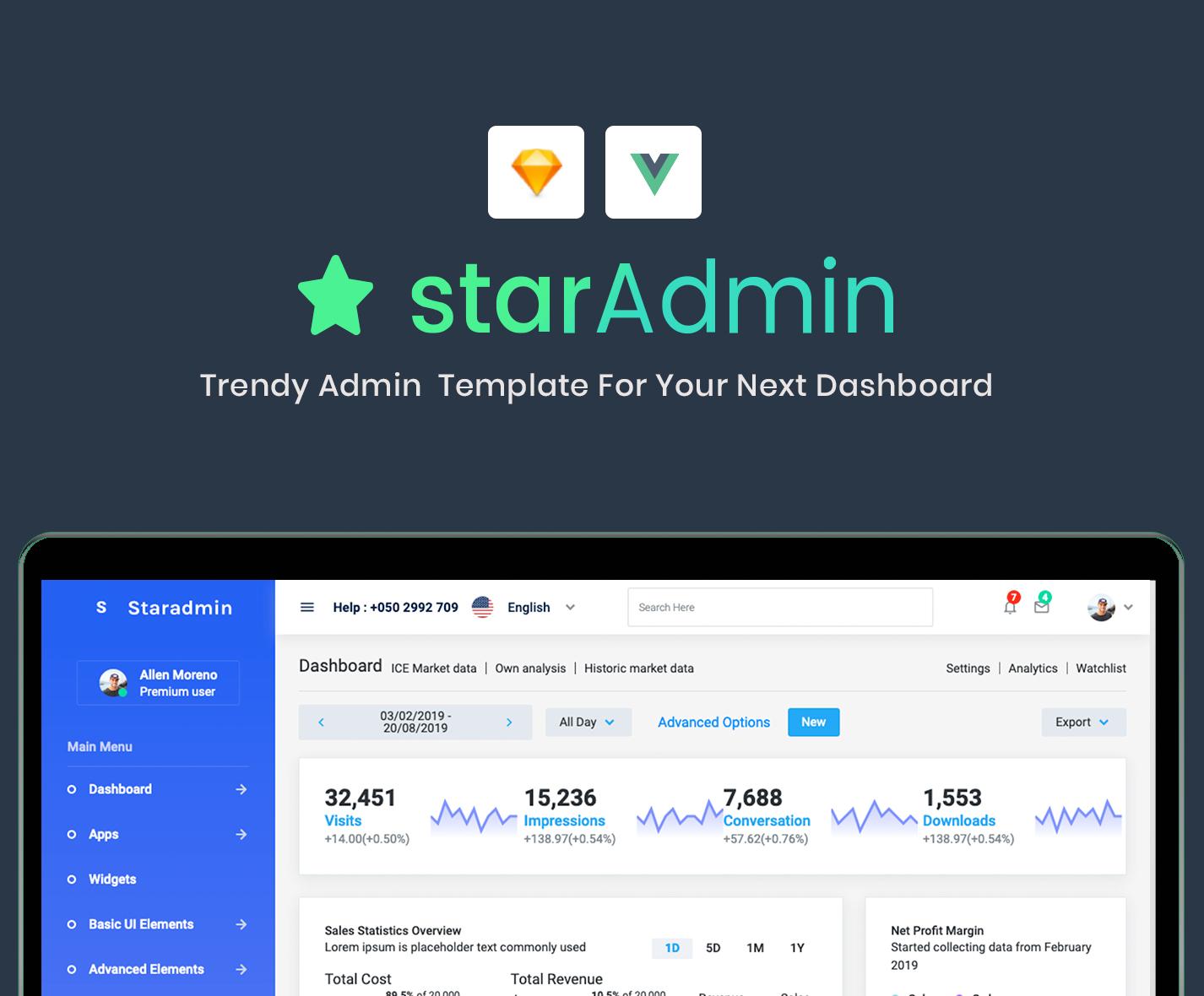 Star Admin Pro Vue