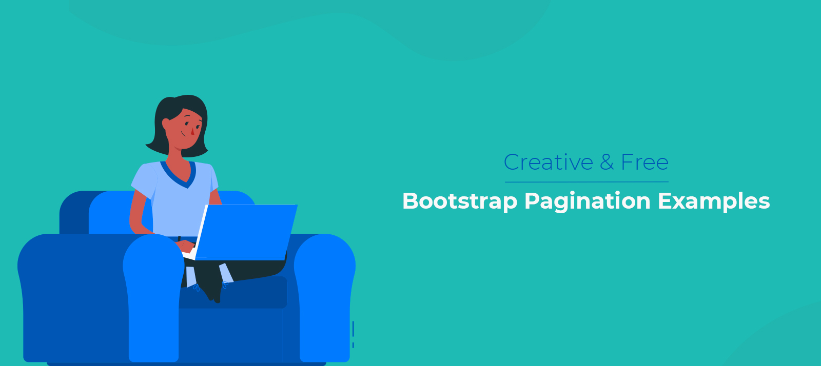 10 Creative and Free Bootstrap Pagination Examples Sure To Leave You Impressed