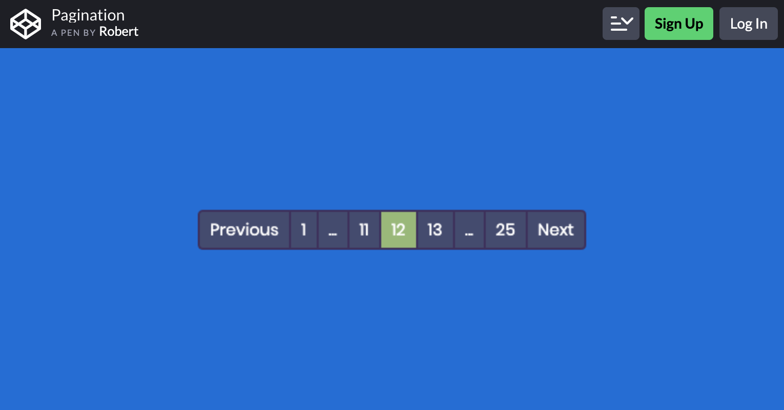 Pagination By Robert