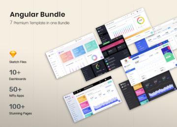 Angular bundle cover