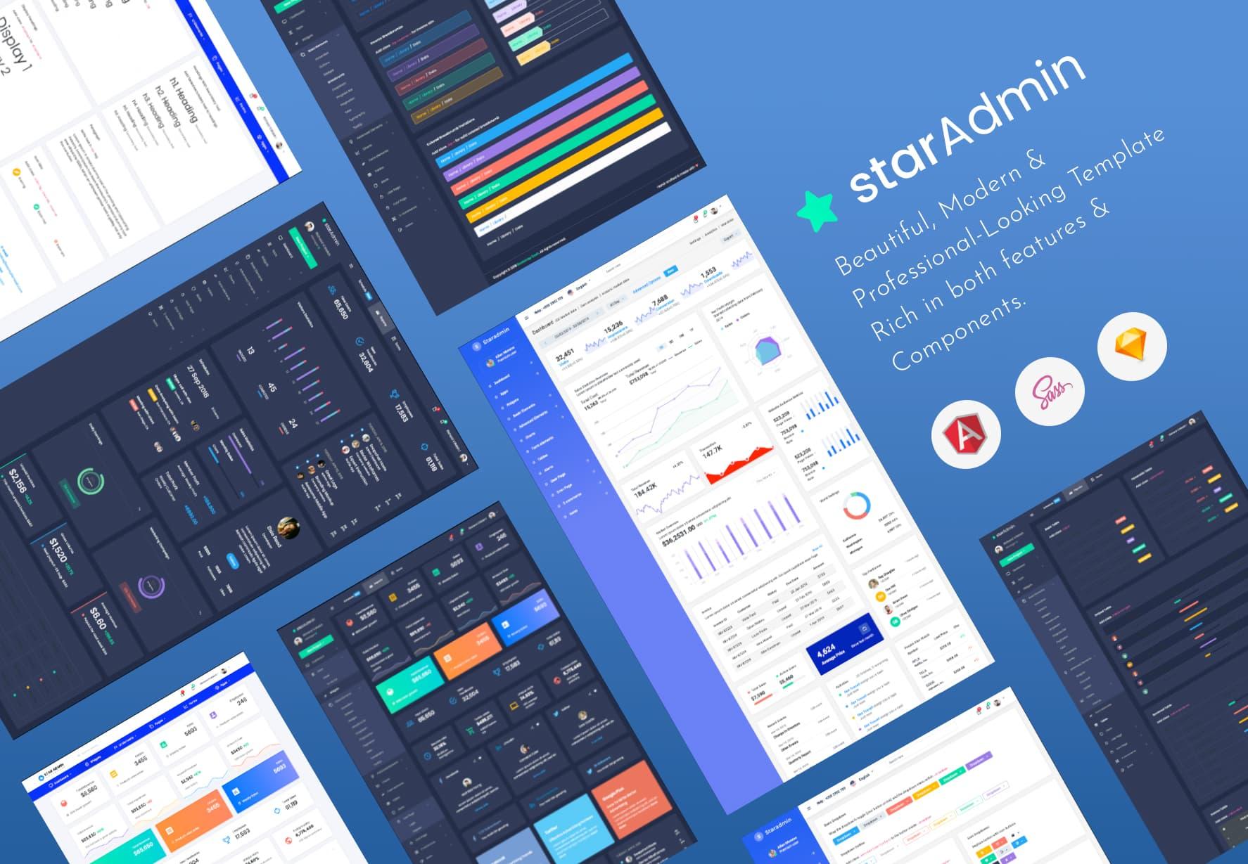 Star Admin Pro Angular
