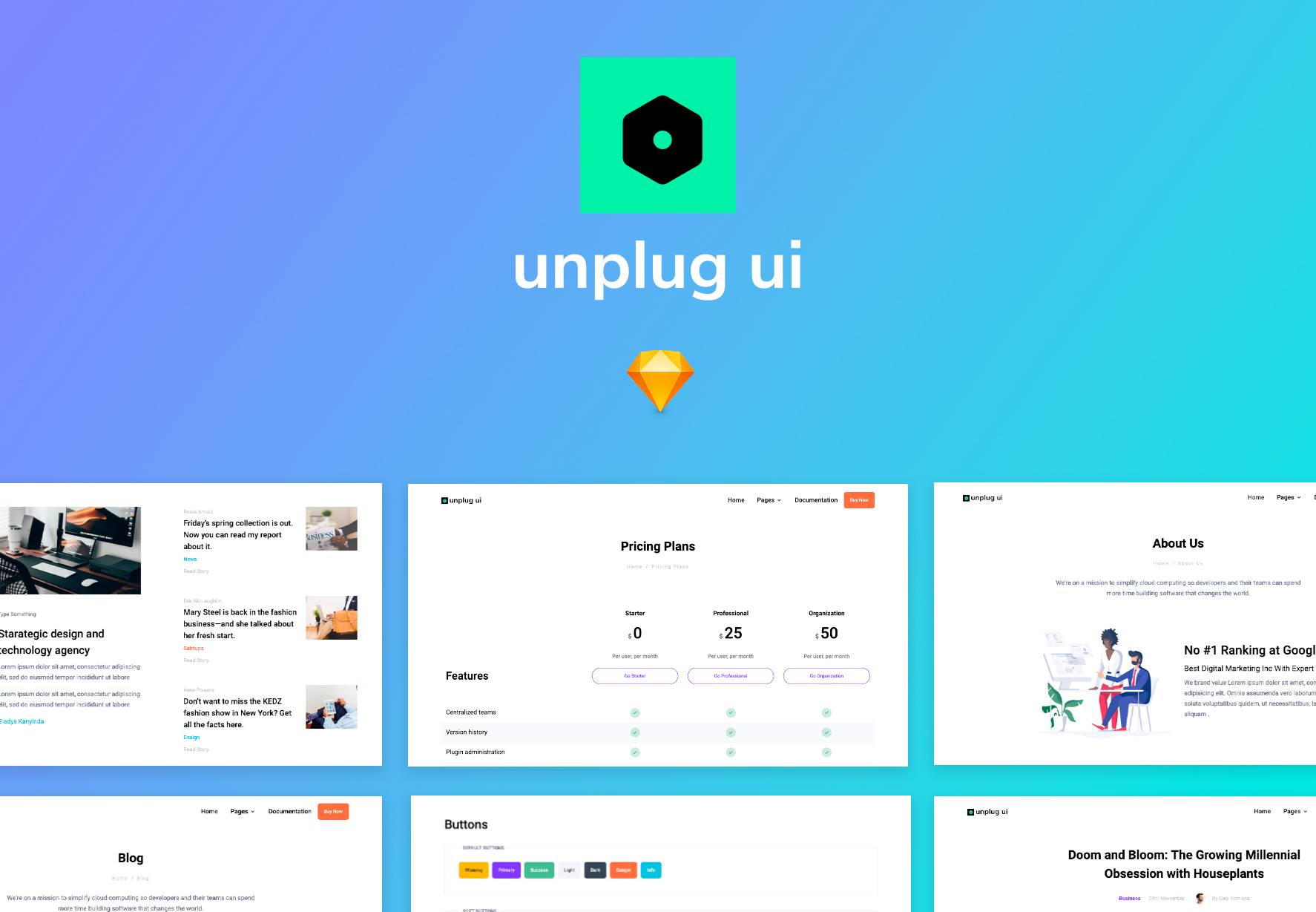 Unplug UI Kit