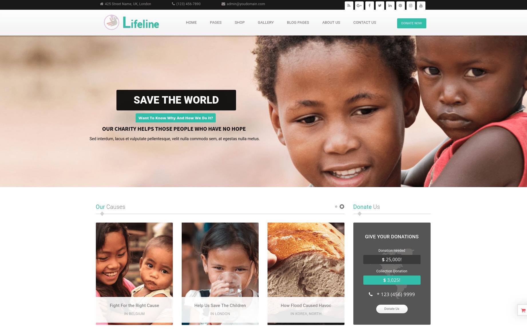 Lifeline charity