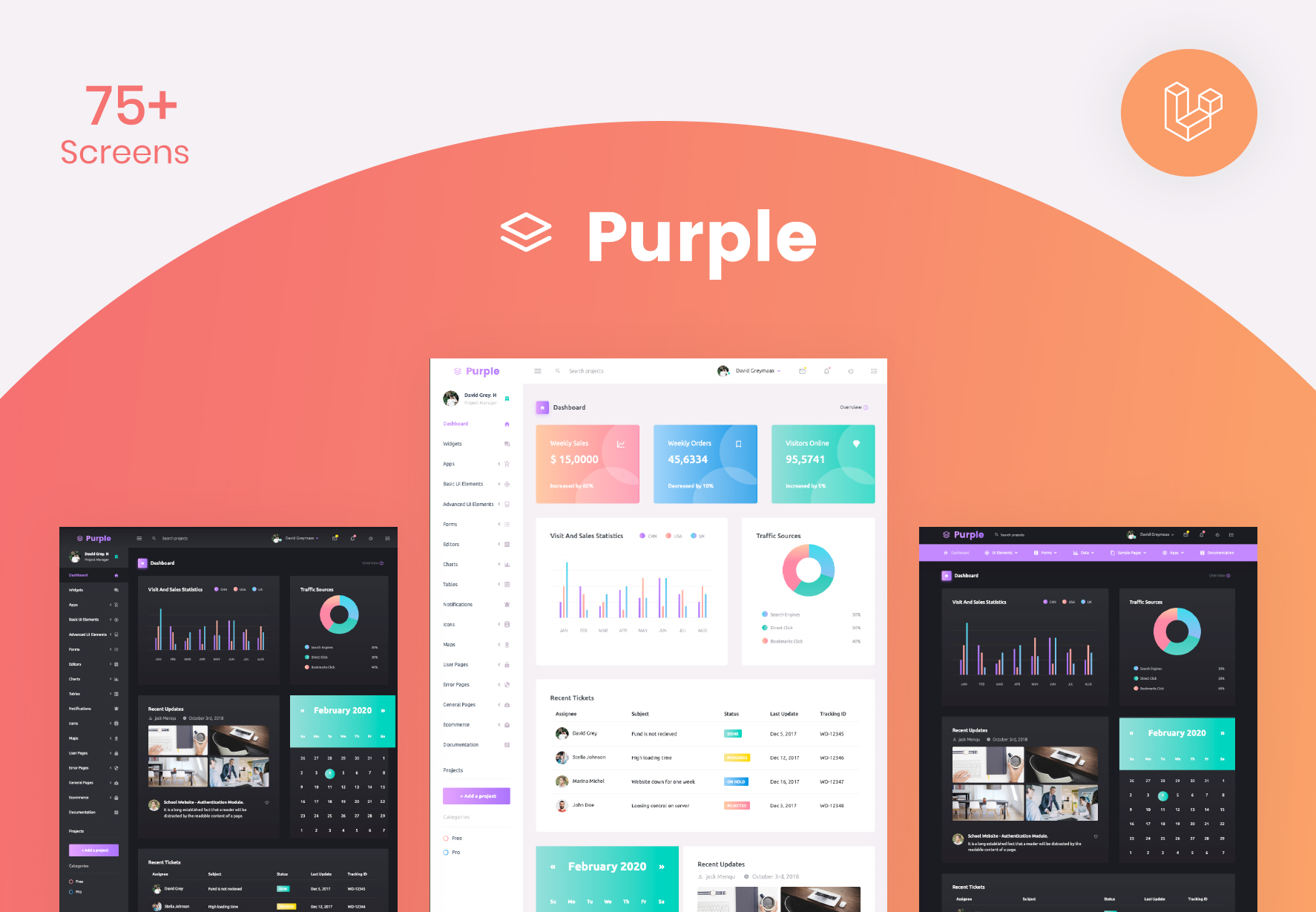 Purple Laravel