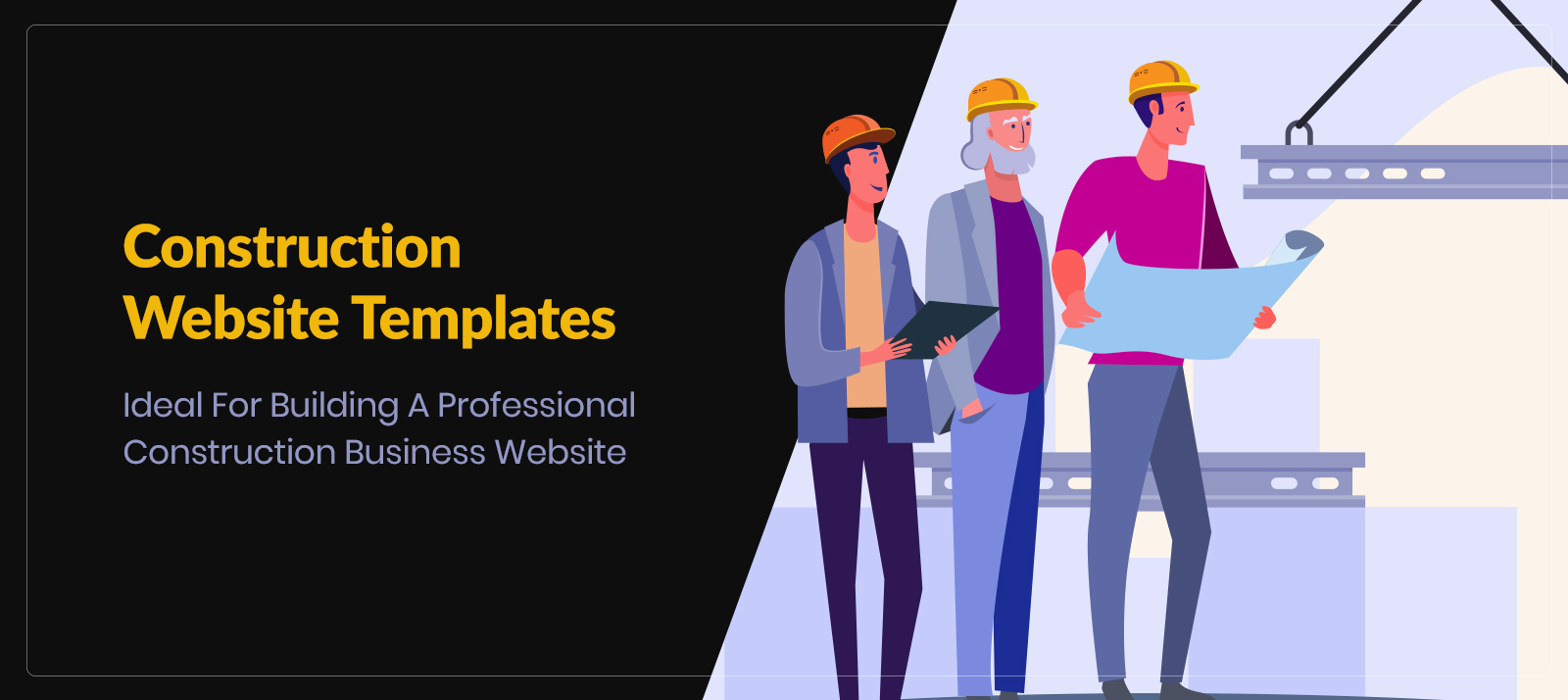 10+ Construction Website Templates Ideal For Building A Professional Construction Business Website