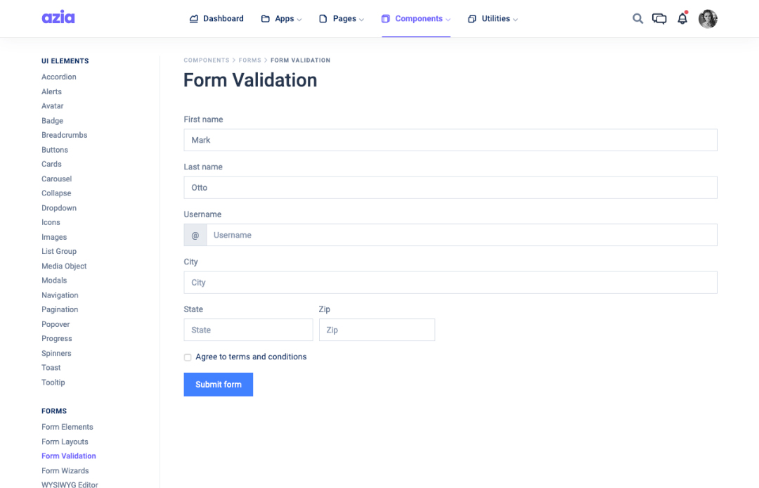 form-validation