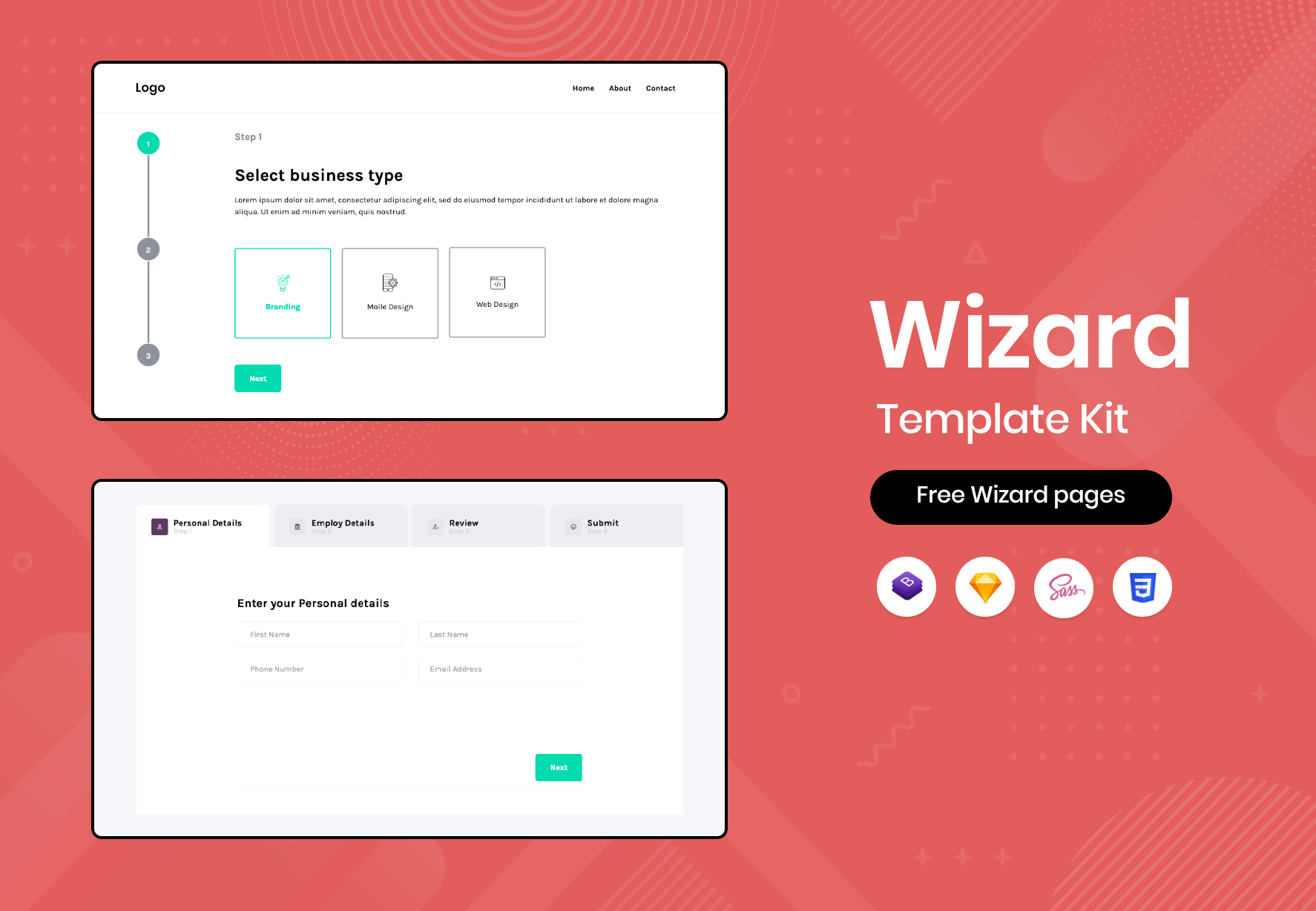 Free Bootstrap Wizard