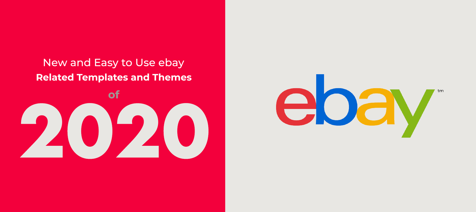 13 New and Easy to Use Ebay Related Templates and Themes of 2020