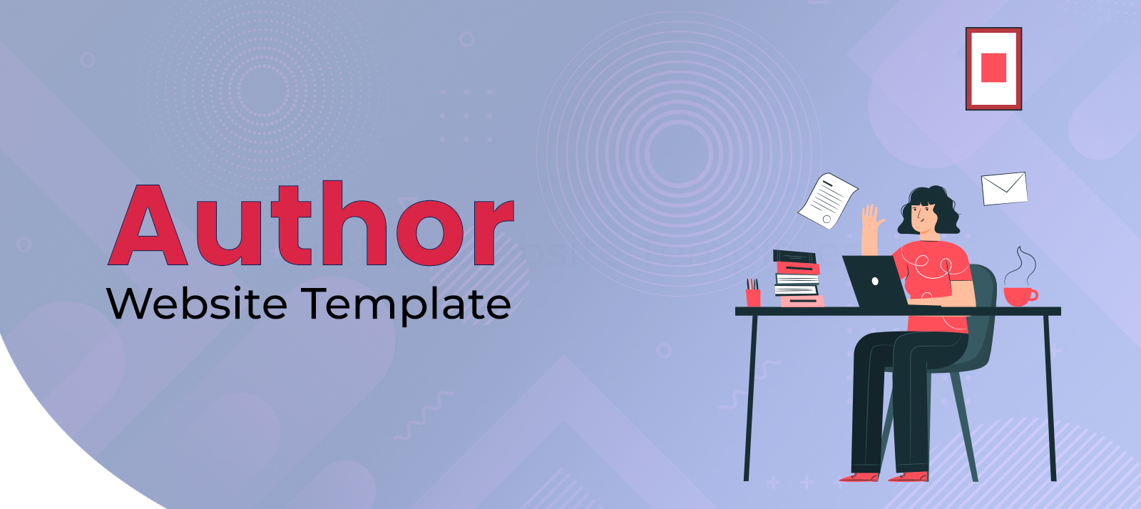 New and Ready To Use Website Templates and WordPress Themes For Authors