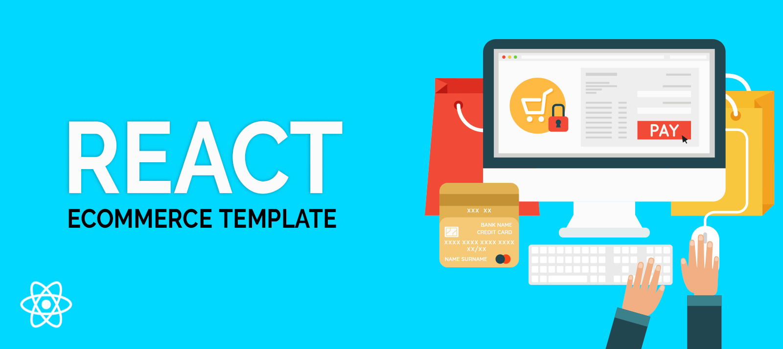 30+ Feature-Rich and Fully Responsive React Ecommerce Templates
