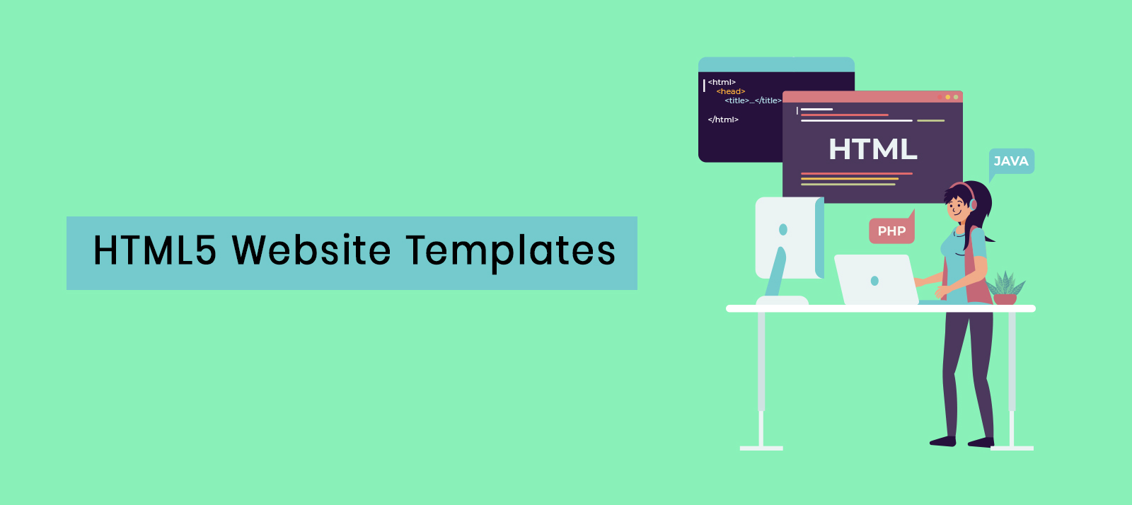 25+ Feature-Packed and Fully Responsive HTML5 Website Templates That Are Available For Free