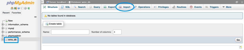 import tab