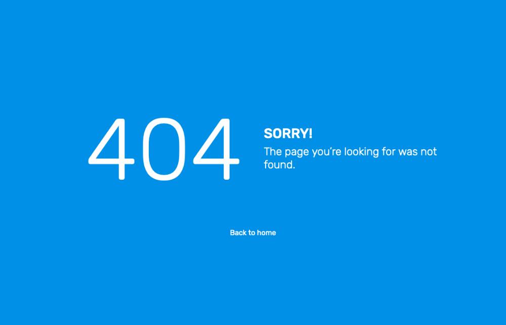react admin panel dashboard free 404 page