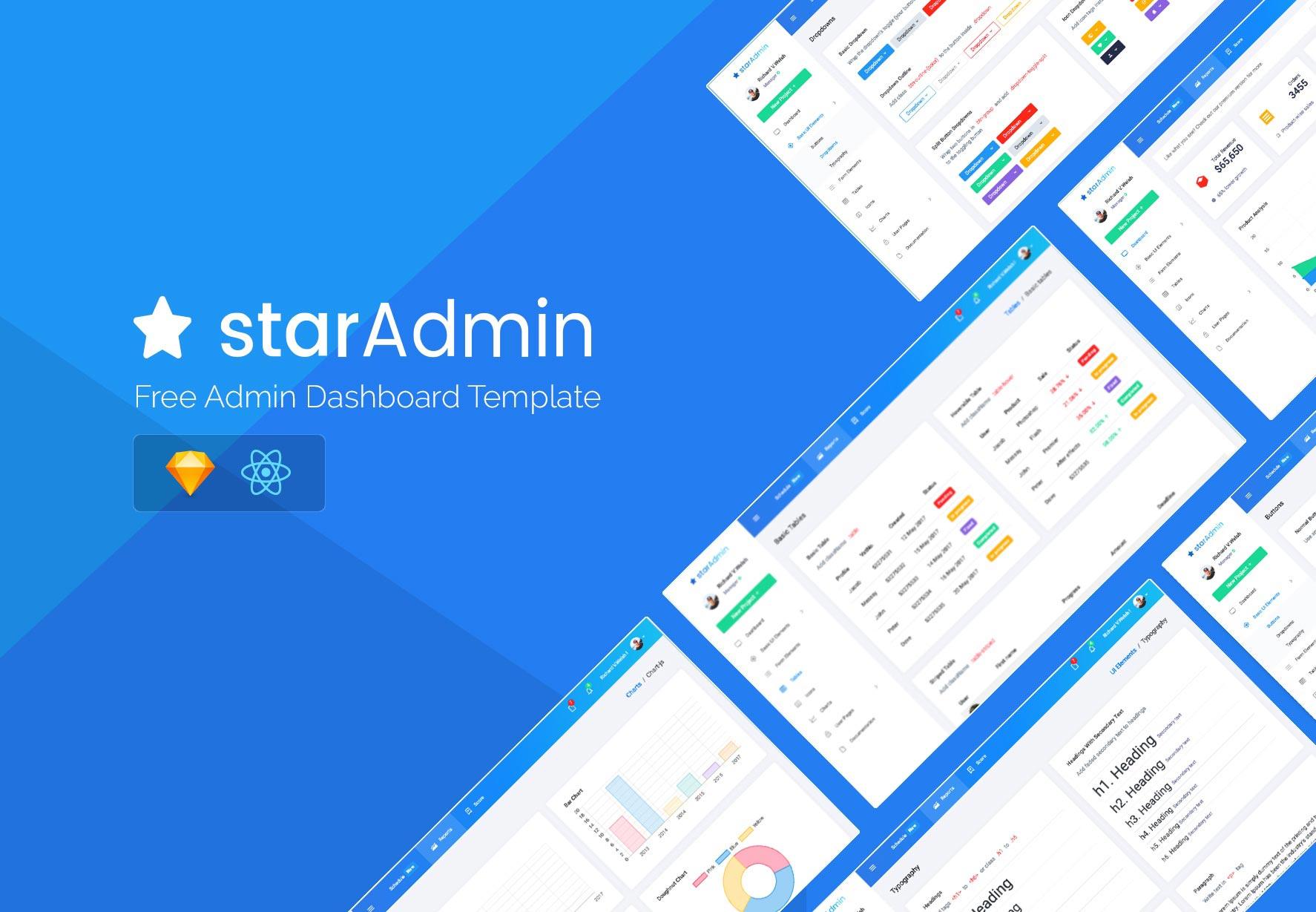 Star Admin React Free